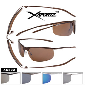 Wholesale Xsportz™ Sport Sunglasses XS502 (Assorted Colors) (12 pcs.)
