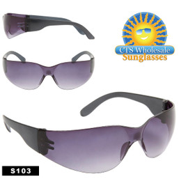 Safety Glasses ~ Tinted Lens ~ S103 (12 pcs.) Safety Eyewear