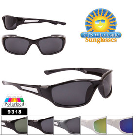 Bulk Polarized Lens Sunglasses - Style #9318