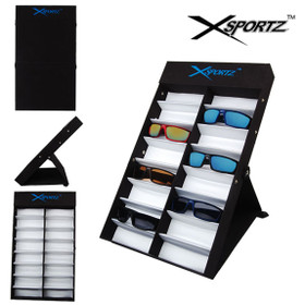 Folding Xsportz Sunglass Display (holds 16 pair of sunglasses) SUNGLASSES NOT INCLUDED 7064 (1 pc.)