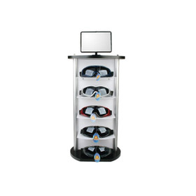 Counter Top Goggle Display Rack ~ 7062 ~ Holds 5 Pairs (1 pc.)