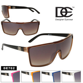 Unisex Sunglasses DE702 Designer Eyewear™ (Assorted Colors) (12 pcs.)