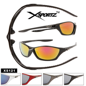 Sports Sunglasses XS121 Xsportz™ (Assorted Colors) (12 pcs.)