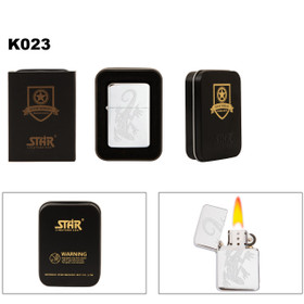 Etched Lizard Lighter K023
