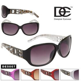 Leopard Print DE™ Sunglasses DE5007 (Assorted Colors) (12 pcs.)
