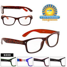 Wholesale Nerd Glasses - 6000 (Assorted Colors) (12 pcs.)