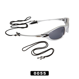 Black Sunglass Cords 0055 (12 pcs.)