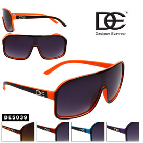 DE™ Wholesale Sunglasses by the Dozen - Style # DE5039 (Assorted Colors) (12 pcs.)