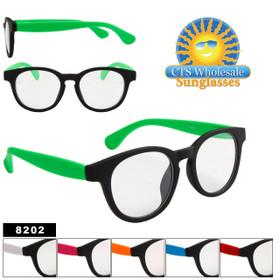 Clear Lens Sunglasses Wholesale 8202