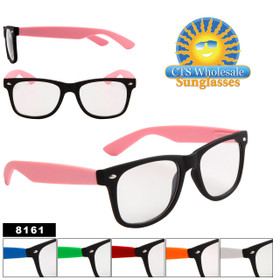 Clear Lens California Classics Style # 8161 (Assorted Colors) (12 pcs.)