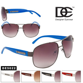 DE™ Wholesale Aviators by the Dozen - Style # DE5022 (Assorted Colors) (12 pcs.)