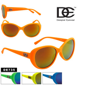Wholesale DE™ Designer Sunglasses by the Dozen - Style # DE735