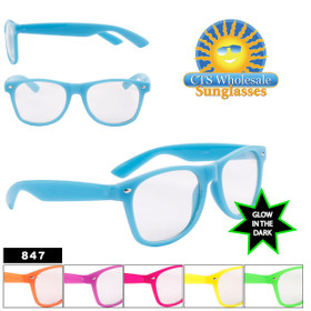 Glow in the Dark California Classics Sunglasses Wholesale - Style #847