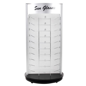 Counter Top Rotating Sunglass Display | Holds 60 Pair
