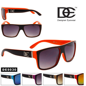 DE™ Wholesale Unisex Sunglasses - DE5030 (Assorted Colors) (12 pcs.)