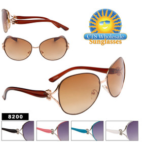 Wholesale Women's Sunglasses - 8200 (Assorted Colors) (12 pcs.)