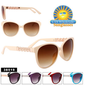 Women's Fashion Sunglasses by the Dozen - Style #38519