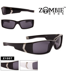 Men's Designer Zombie Eyes™ Sunglasses - Style #Z1007 (Assorted Colors) (12 pcs.)