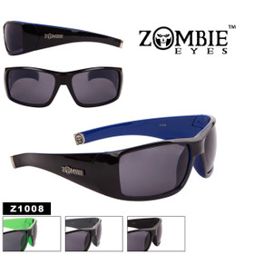 Zombie Eyes™ Men's Wholesale Designer Sunglasses - Style #Z1008 (Assorted Colors) (12 pcs.)