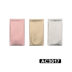 Colorful Wholesale Vinyl Snap Pouches AC3017