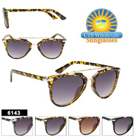 Retro Mirrored Sunglasses - Style #6143