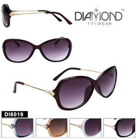 Bulk Diamond™ Fashion Sunglasses - DI6019 (Assorted Colors) (12 pcs.)