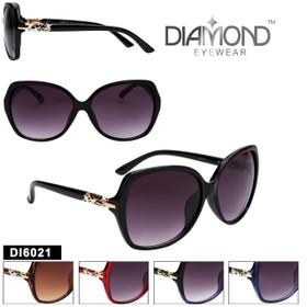 Wholesale Diamond™ Rhinestone Sunglasses - DI6021 (Assorted Colors) (12 pcs.)