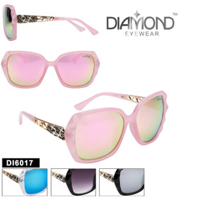 Diamond™ Rhinestone Sunglasses - DI6017 (Assorted Colors) (12 pcs.)