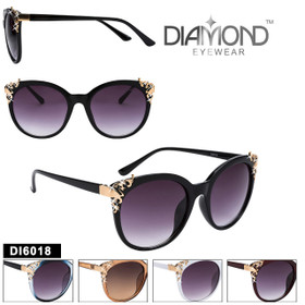 Diamond™ Eyewear Fashion Sunglasses - DI6018 (Assorted Colors) (12 pcs.)