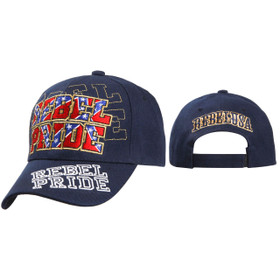 Wholesale Caps ~ Rebel Pride ~ Navy Blue