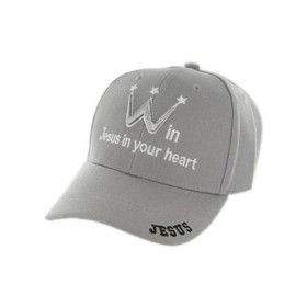 WIN JESUS IN YOUR HEART Wholesale Baseball Hat