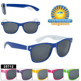 Bulk California Classics Sunglasses - Style #25712 (Assorted Colors) (12 pcs.)