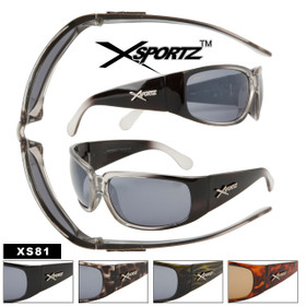 Xsportz™ XS81 Cool Sunglass Style (Assorted Colors) (12 pcs.)
