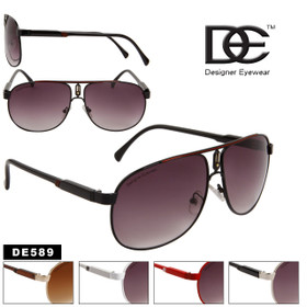 Wholesale Aviator Sunglasses DE™ -  Style # DE589
