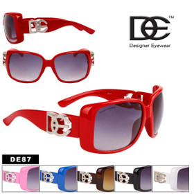 DE Designer Eyewear - Style #DE87 (Assorted Colors) (12 pcs.)