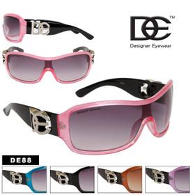 DE™ Designer Eyewear Wholesale - Style #DE88 (Assorted Colors) (12 pcs.)