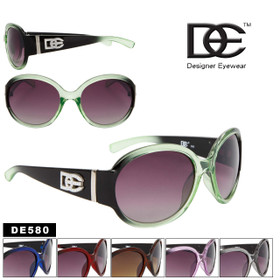 DE Designer Eyewear FASHION SUNGLASSES! DE580 (Assorted Colors) (12 pcs.)