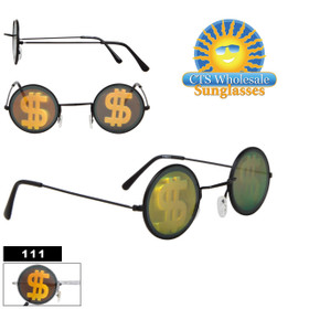 Dollar Sign Hologram Sunglasses 111