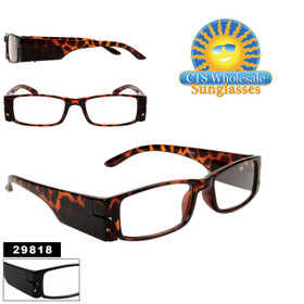 Wholesale Reading Glasses with Lights 29818 (Assorted Colors) (12 pcs.)