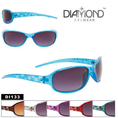Rhinestone Sunglasses by the Dozen - Style #DI133