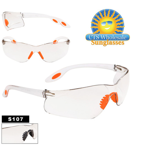 Clear Safety Glasses S107