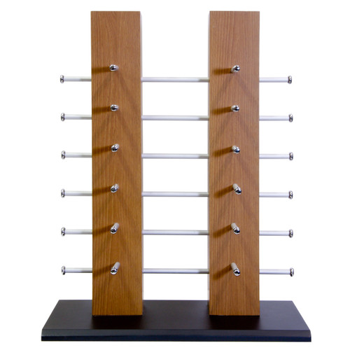 Wood Sunglass Display Stand | Holds 12 Pair
