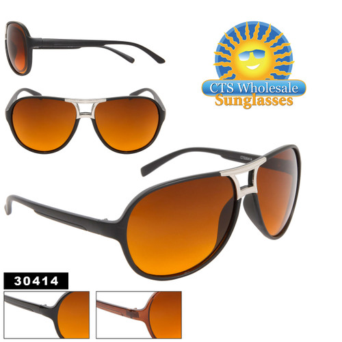 Blue Blocking Aviators 30414