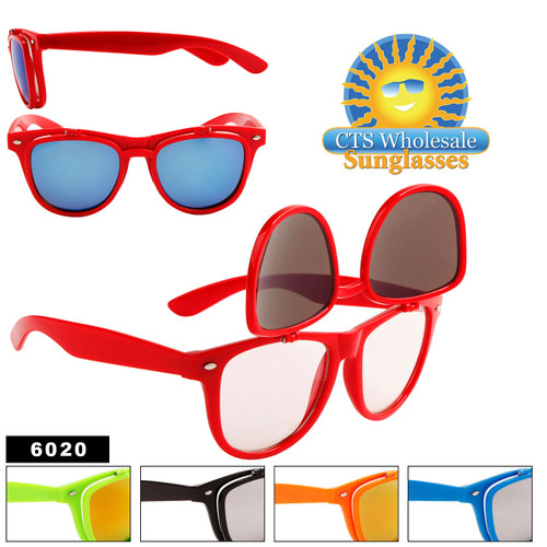 Flip Up California Classics Sunglasses by the Dozen - Style #6020