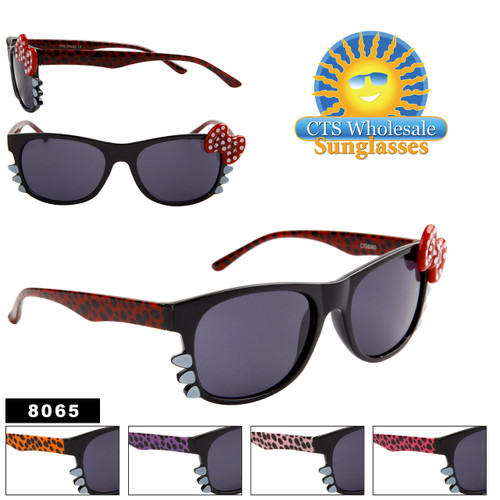 Animal Print California Classics with Whiskers & Bows! 8065