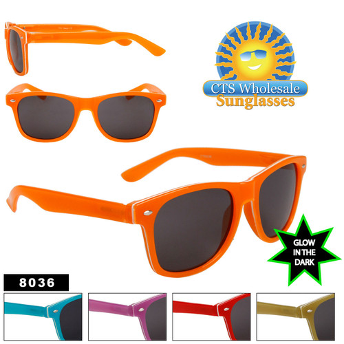 Glow in the Dark Sunglasses - # 8036