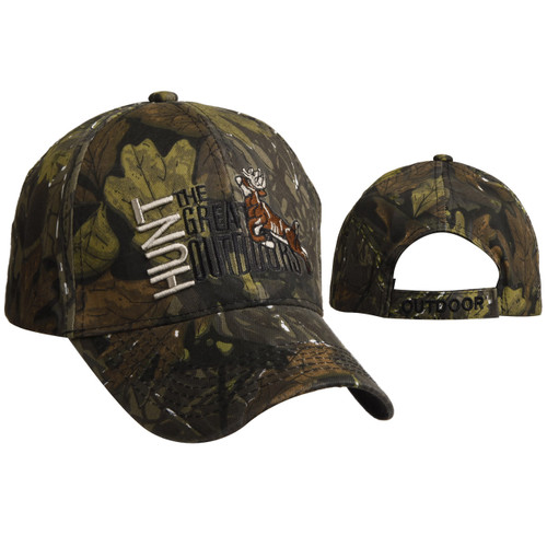 """Wholesale Hunting Caps C6015 (1 pc.) """"Hunt the Great Outdoors"""""""
