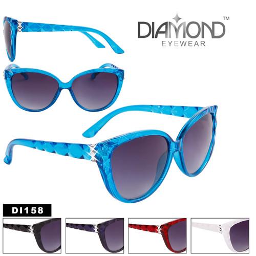 Bulk Rhinestone Cat Eye Sunglasses - Style #DI158