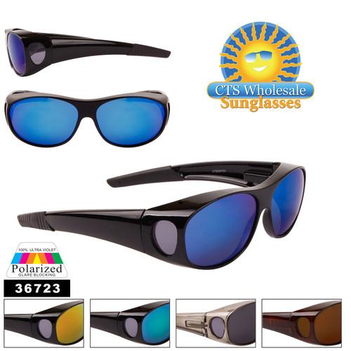 Wholesale Polarized Over Glasses Sunglasses - Style #36723