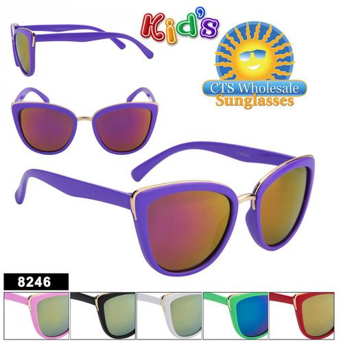 Girl's Wholesale Sunglasses - Style #8246